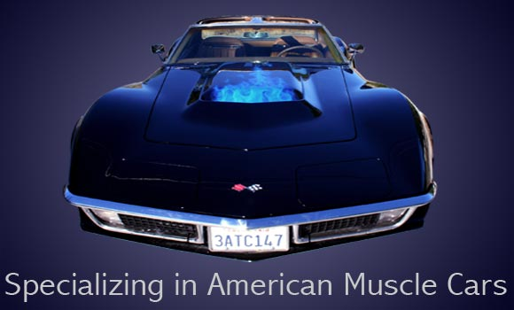 Specializing in American Muscle Cars